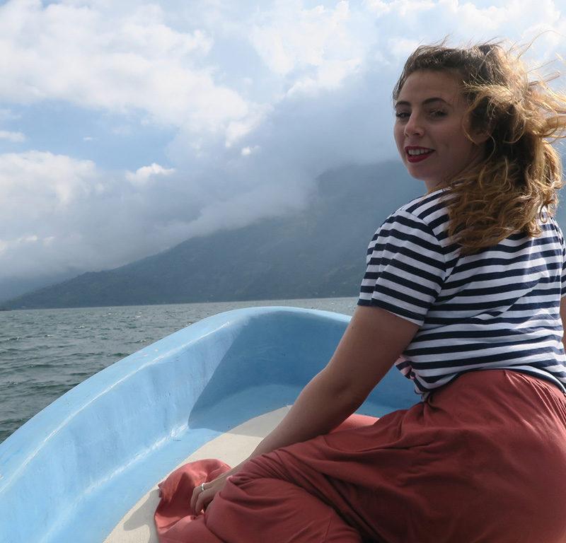 Christianne Risman viajando a través de CentroAmérica
