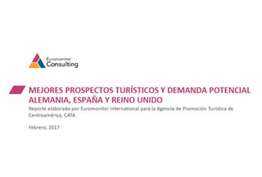CATA - Centroamérica - Mejores prospectos turísticos y demanda potencial