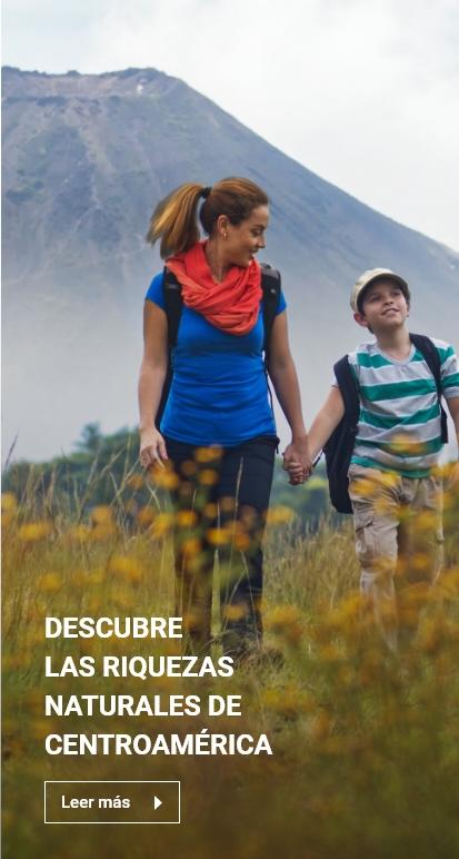 Riquezas Naturales - Centroamérica