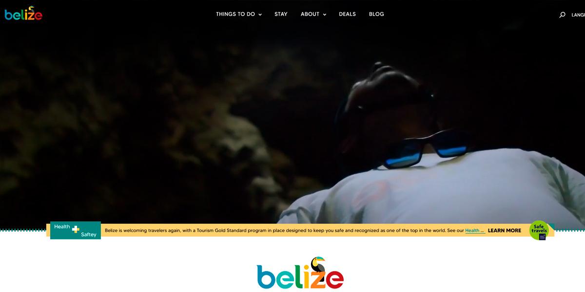 Belize new website