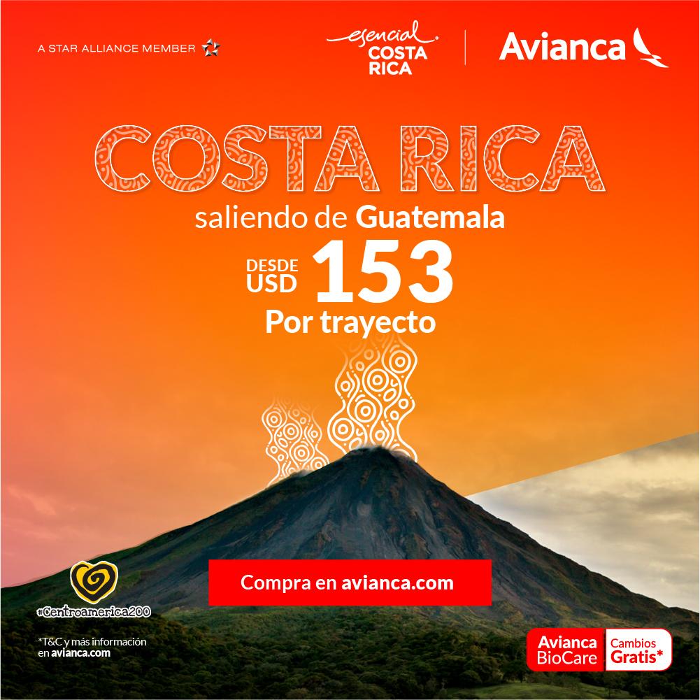 Costa Rica y AVIANCA suman alianza comercial