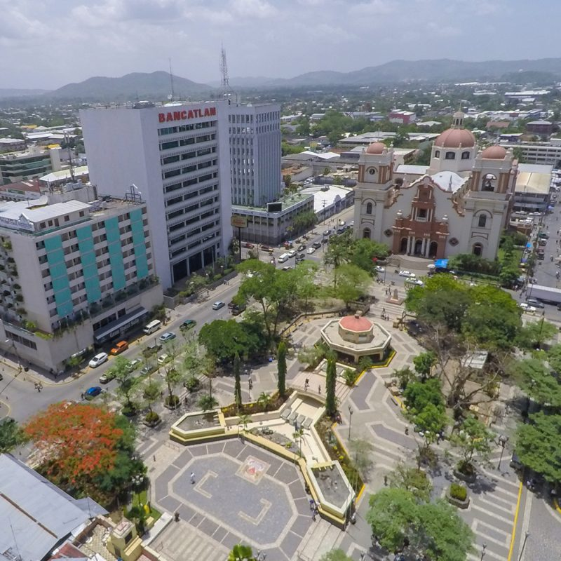 Central America, business center