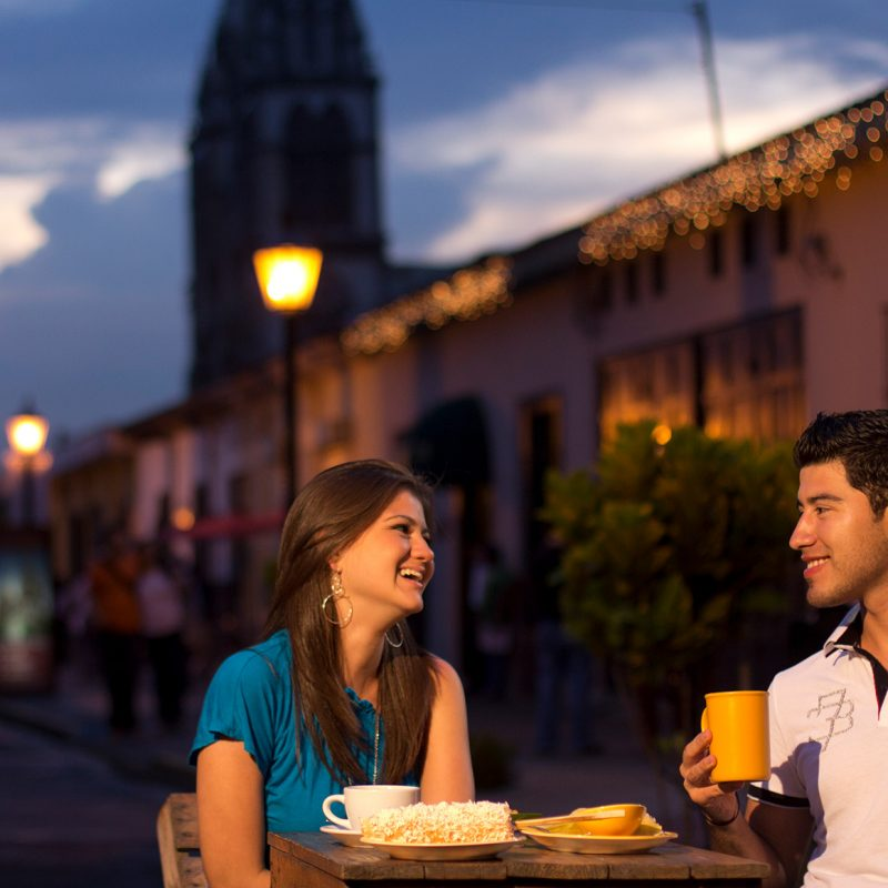 Central America, a romantic destination