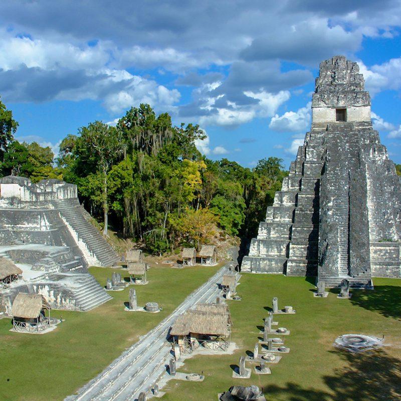 Patrimonio de la Humanidad, sitio arqueológico de Tikal en Guatemala