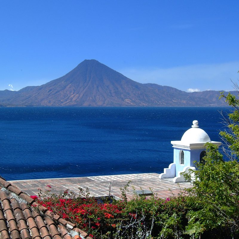 Volcano Saint Peter in Guatemala