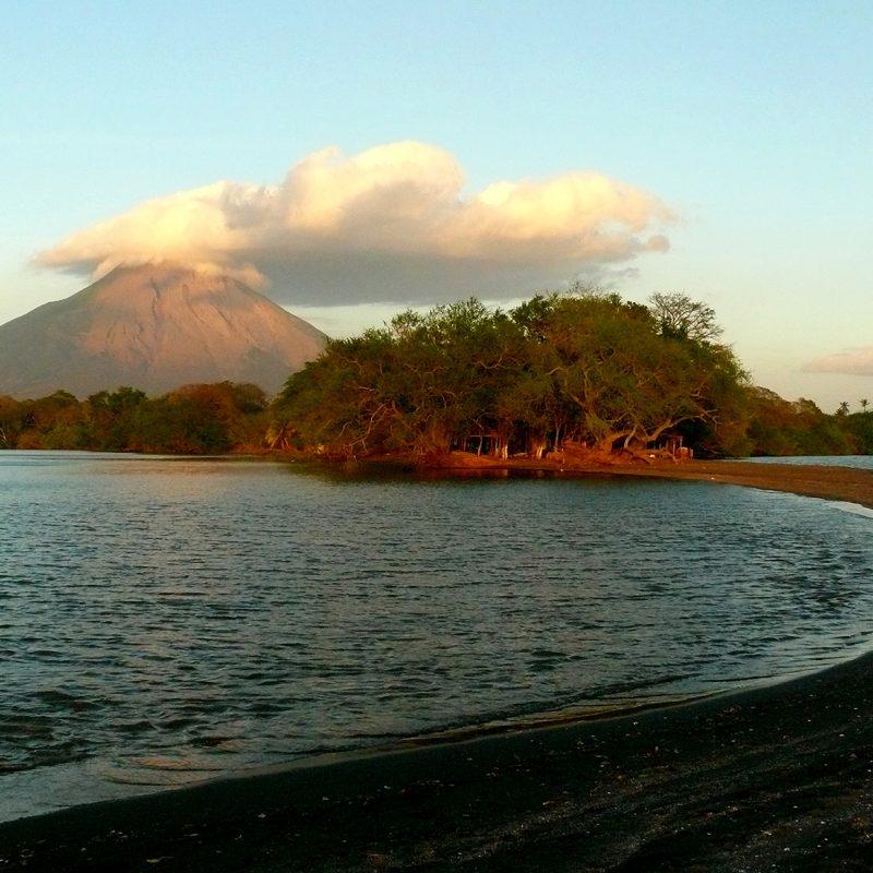 Isla de Omepete en Nicaragua