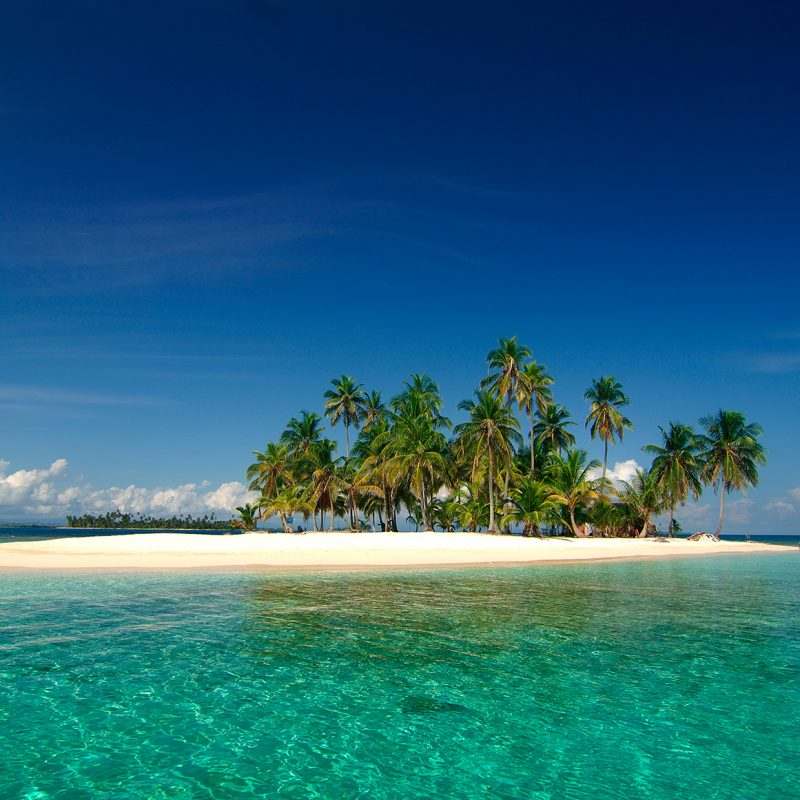 Isla Pelícano en Panamá