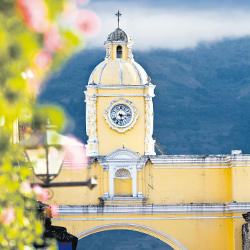 La Antigua Guatemala en Centroamérica, Guatemala