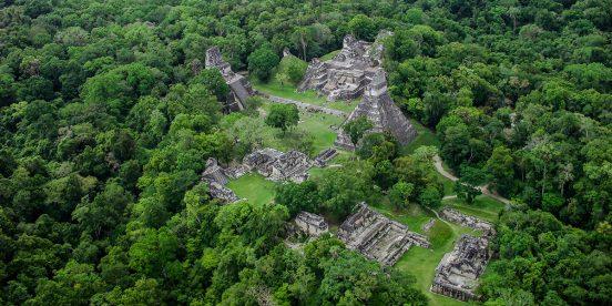Parque Nacional Ruinas de Tikal en Centroamérica, Guatemala