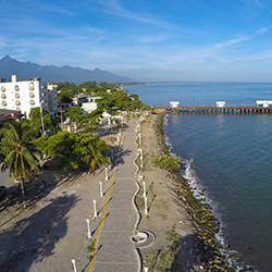 Central America. La Ceiba in Honduras