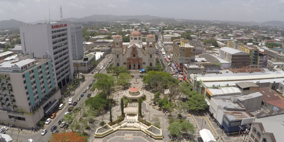 San Pedro Sula In Honduras Colonial Central America