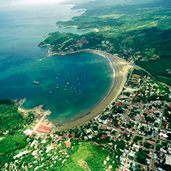 Central America. San Juan Southern Port in Nicaragua
