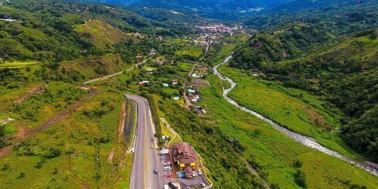 Central America. Boquete in Panama