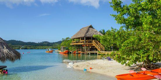 Islas de la bahía de Roatán en Honduras