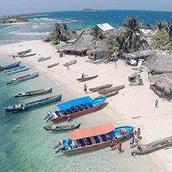 Cayos Cochinos de Honduras, la barrera de Coral en Centroamérica
