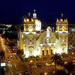 San Pedro de Sula, restos coloniales en Centroamérica