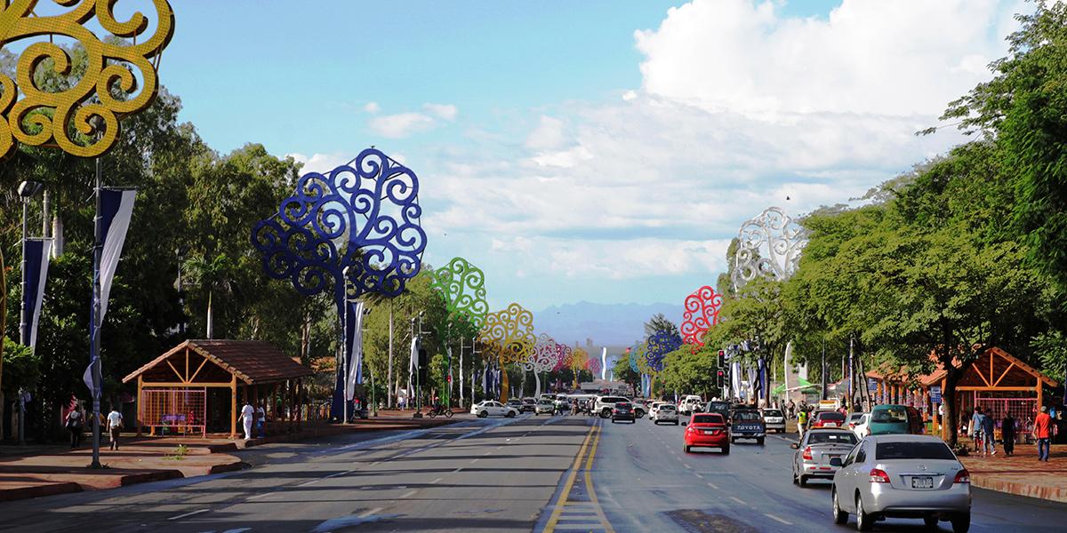 managua  capital de nicaragua  una ciudad rodeada de