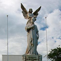 Managua, capital de Nicaragua. Capitales de Centroamérica