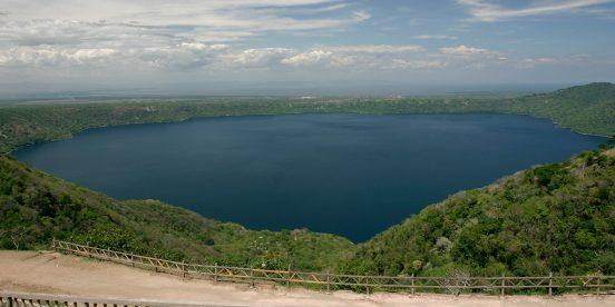 Mirador de Catarina sobre el Lago Cocibolca en Nicaragua