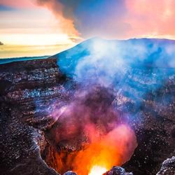 Parque Nacional Volcán de Masaya en Nicaragua