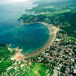 Puerto de San Juan del Sur en Nicaragua
