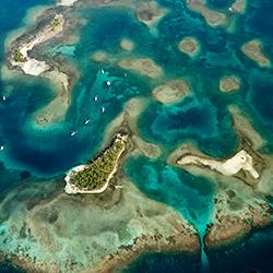 Archipiélago de San Blas en el caribe panameño