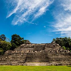 Central America. Caracol in Belize