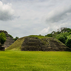 Central America. Xunantunixh History Archeology in Belize