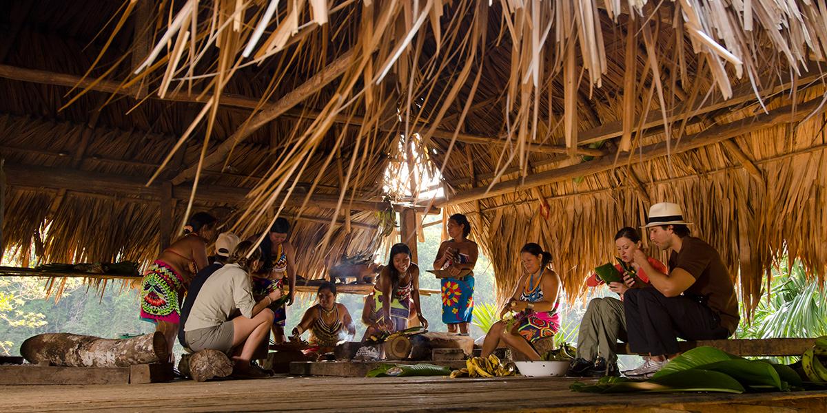 Emberá Querá Village, community tourism in Panama