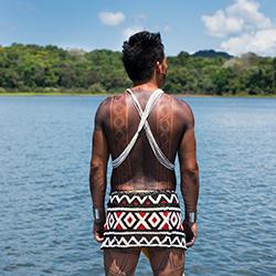 Central America. Embera Drua in Panama