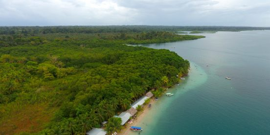 Central America. Starfish Beach in Panama