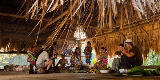 Turismo Comunitario en la Aldea Embera Drua de Panamá