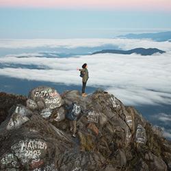 Parque Nacional del Volcán Barú en Panamá