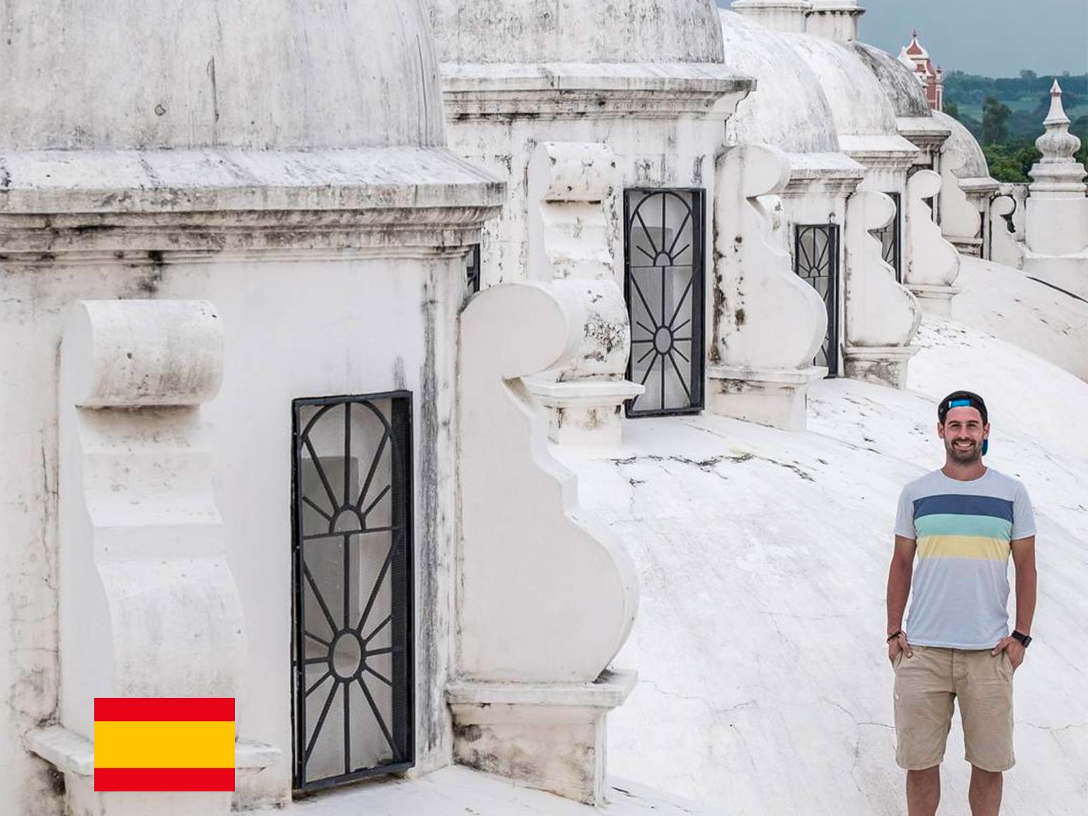 Experiencia Centroamericana de Alberto, de Mochileros TV