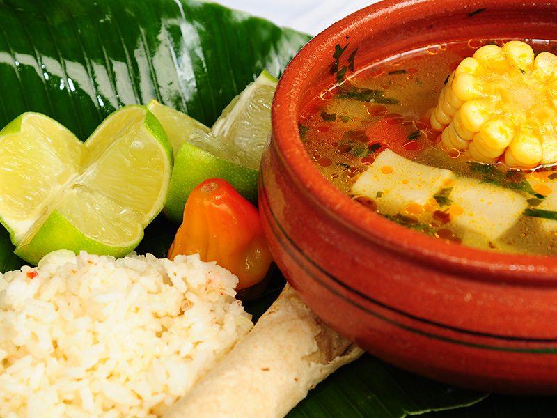 Gastronomía Centroamericana. Costa Rica.