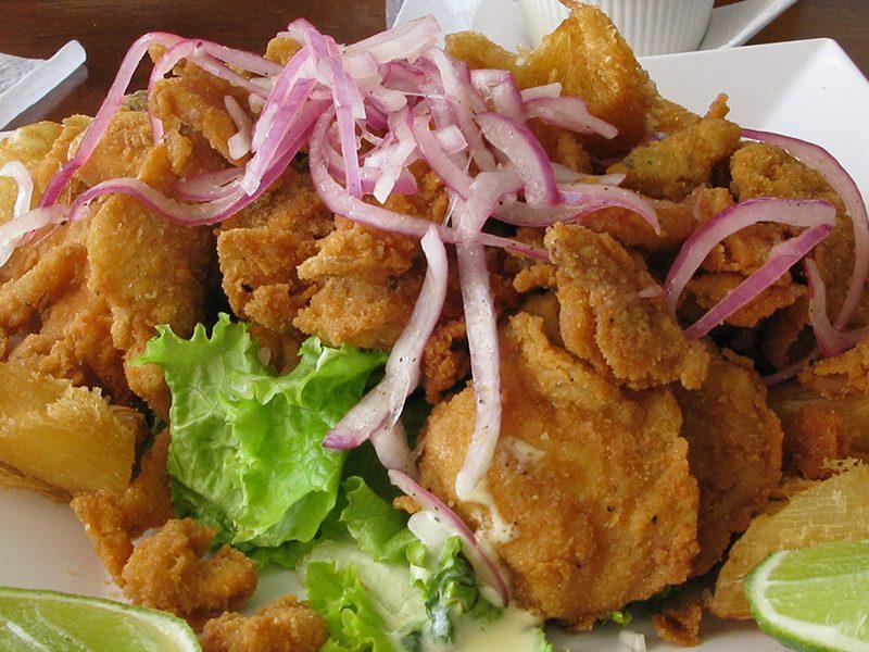 Gastronomía Centroamericana. El Salvador.