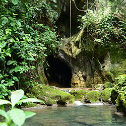 Central America. Caves ATM in Belize