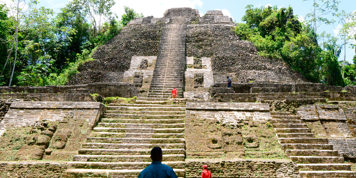 Lamanai, the place of the second largest Mayan structure