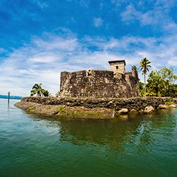 Castillo de San Felipe, legado colonial en Guatemala