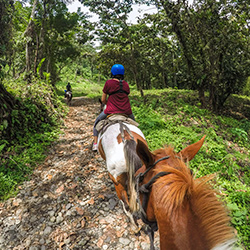 Central America. Arenal Volcano Fortuna in Costa Rica