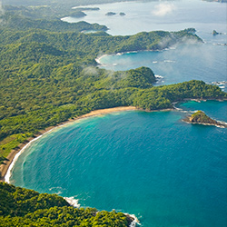 Central America. Beaches Guanacaste in Costa Rica