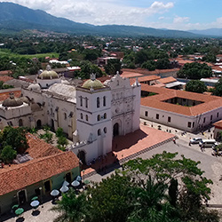 Central America. Comayagua in Honduras