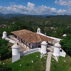Central America. Gracias Lempira in Honduras