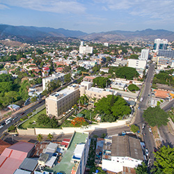 Central America. Tegucigalpa in Honduras
