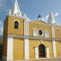Central America. Trujillo in Honduras