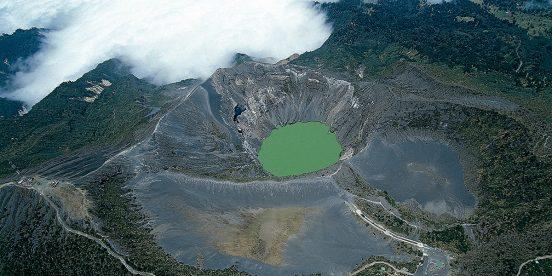 ver centroamerica costa rica volcan irazu