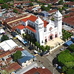 Central America. Juayua in El Salvador