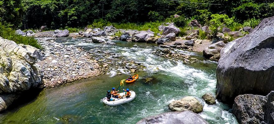 Parque Nacional Pico Bonito - Rafting en el Río Cangrejal
