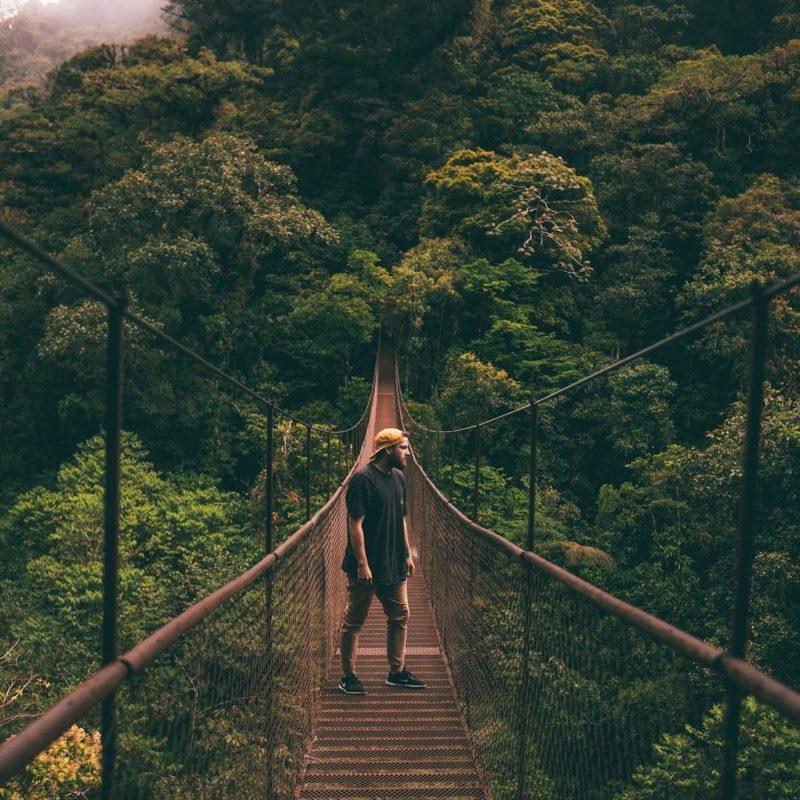 Panamá - Puentes colgantes de Boquete