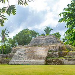 Belize Altun Ha archaeological site